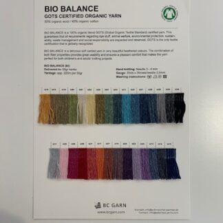 Shadecard Bio Balance